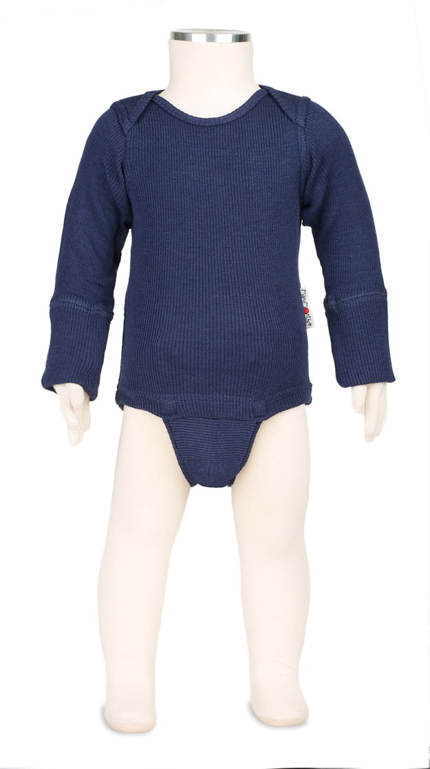 MANYMONTHS BODY/TRIČKO merino 16 Moonlight Blue
