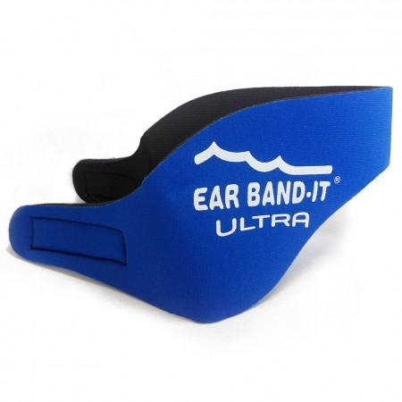 Ear Band-it Ultra čelenka a 1pár štuplov- modrá