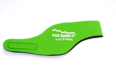 Ear Band-it Ultra čelenka a 1pár štuplov- zelená