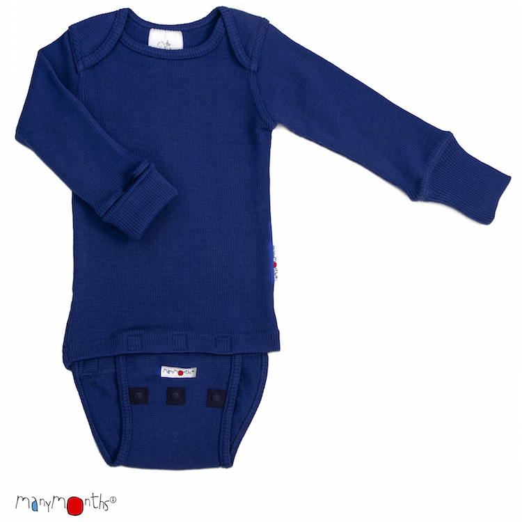 Manymonths body/tričko mer.18 Jewel Blue