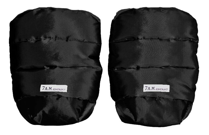 7AM Enfant WarMMuffs rukavice na kočík Black