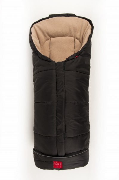 KAISER - Fusak Iglu Thermo Fleece - black/ beige